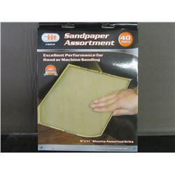 40 piece Sandpaper