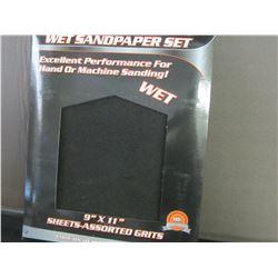 20 piece Wet Sandpaper