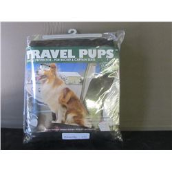 New Travel Pups car seat protector