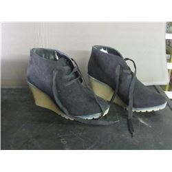 New wedge booties womens