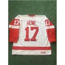 Signed Hockey Jersey, Gordie Howe