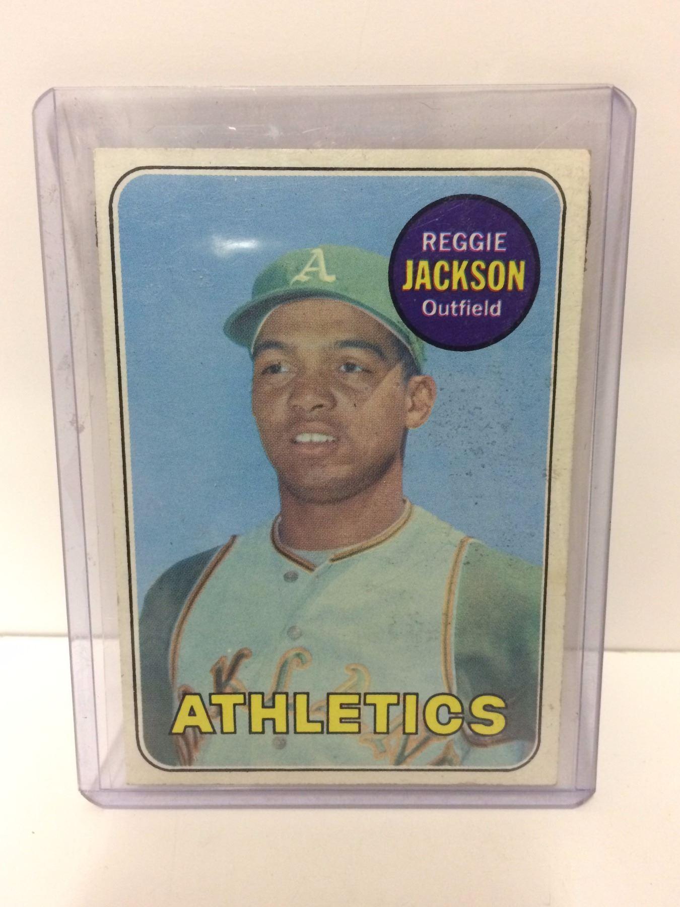 1969 Topps 260 Reggie Jackson Rookie Card