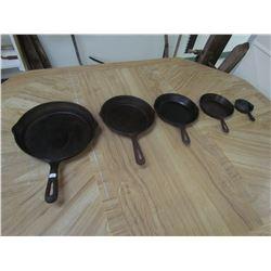 5 Cast frying pans