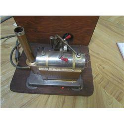 Jensen MFG steam engine electric heated - Working