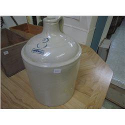 3 Gallon Whiskey jug