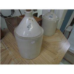 4 Gallon Whiskey jug