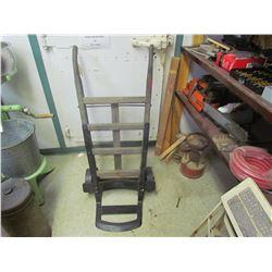 Wooden store cart & wheeler