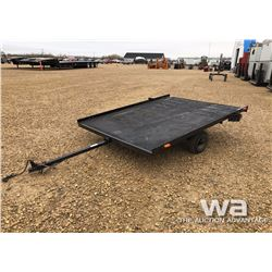 6X8 FT. UTILITY TRAILER