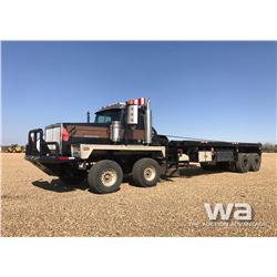 2007 WESTERN STAR T/A T/A BED TRUCK