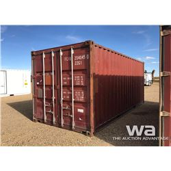 2004 8X20 FT. SHIPPING CONTAINER