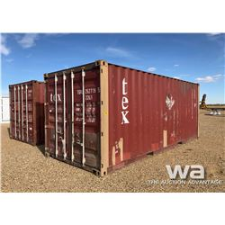 2002 8X20 FT. SHIPPING CONTAINER