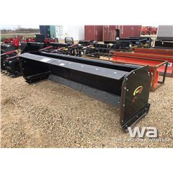 QUICK ATTACH 120'' BOX BLADE FOR SKID STEER