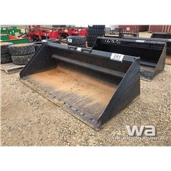 98'' SKID STEER SNOW BUCKET