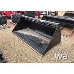 "HLA 84"" SKID STEER SNOW BUCKET"