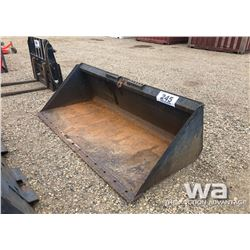 86'' SKID STEER SNOW BUCKET