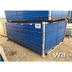 "(40) 72"" CONSTRUCTION FENCE PANELS"
