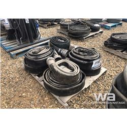 4'' CAMLOCK HOSE AND LAY FLAT HOSE