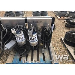 "FLYGT 2"" SUBMERSIBLE SUMP PUMP"