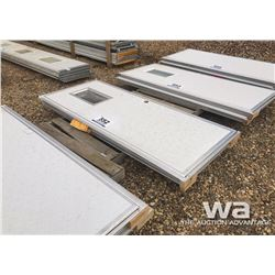 (2) UN-USED WELLSITE DOORS