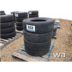 (4) MICHELIN LT275/70R18 TIRES