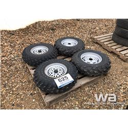 (4) HONDA ATV TIRES & RIMS