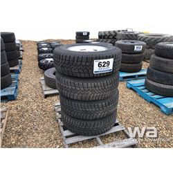 (4) GOODYEAR LT265/70R17 TIRES