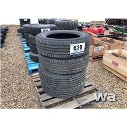 (4) MICHELIN LT265/60R20 TIRES