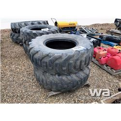 (2) FIRESTONE 17.5X25 LOADER TIRES