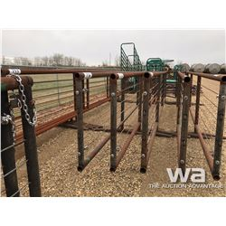 22 FT. FREESTANDING PANELS WITH 8 FT. GATES