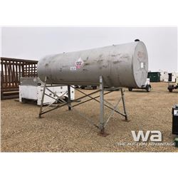 1000 GAL FUEL TANK & STAND
