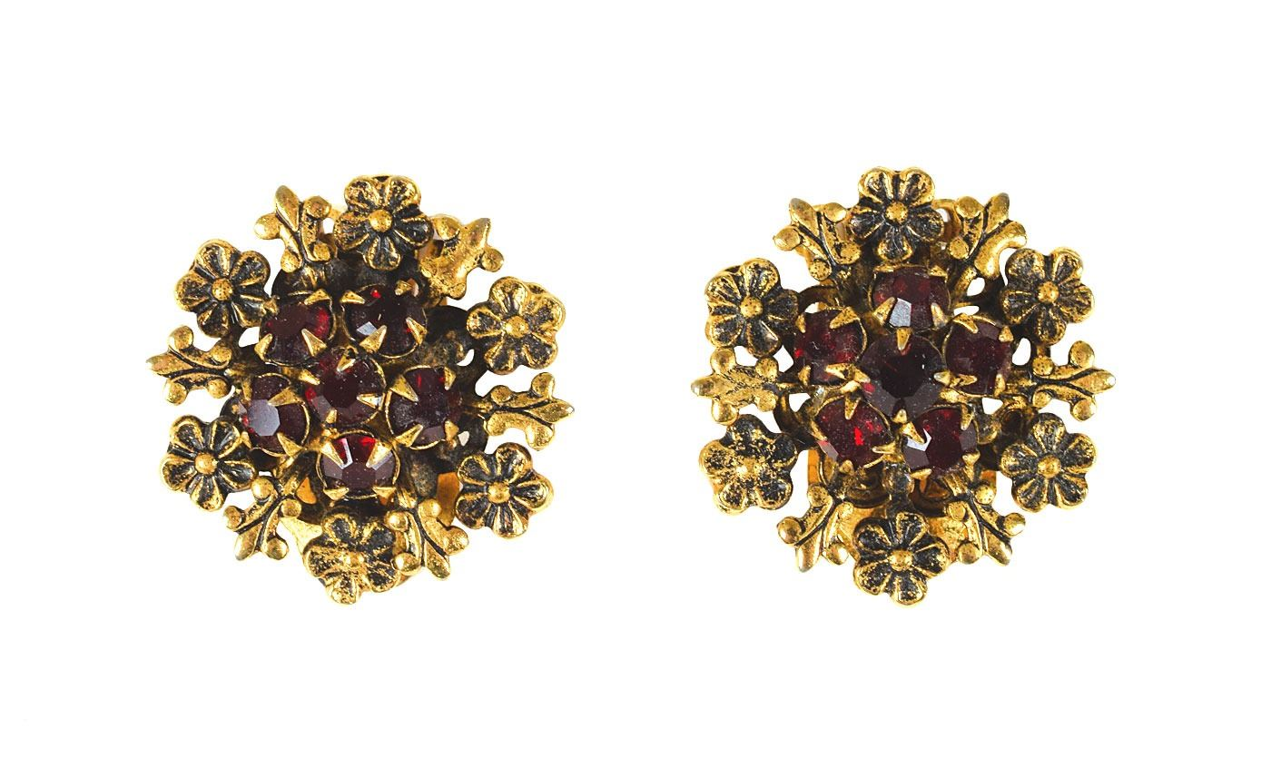 Jackie Swanson Images prince personally-gifted pair of 'raspberry' earrings