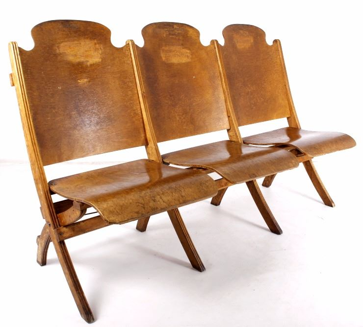 Tremendous Montana Wooden Frame Folding Theater Chairs Caraccident5 Cool Chair Designs And Ideas Caraccident5Info