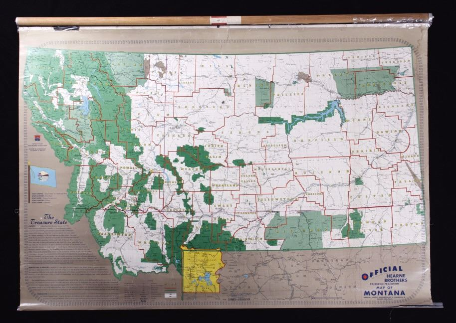 Wall Map of Montana Zoom Map Of Montana on zoom map of texas, atlas of montana, zoom in map, zoom map of united states,
