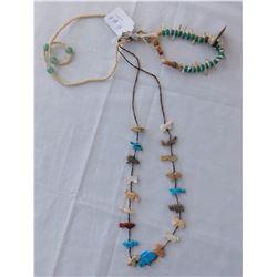 Fetish Necklace + 2 Pieces