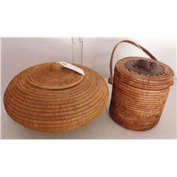Lidded Indonesian Baskets
