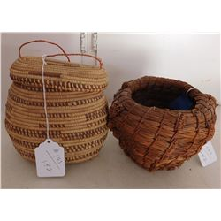 2 Tribal Baskets