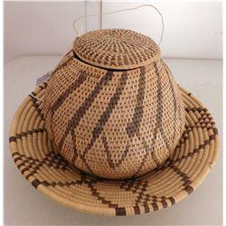 2 Tribal Baskets