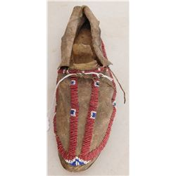 Single Beaded Moccasin