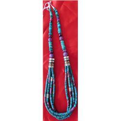 T&R Singer 4 Strand Necklace