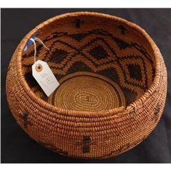 Antique Mission Indian Basket
