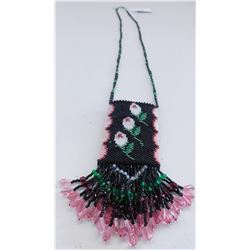 Beaded Neck Purse