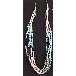 Navajo 4 Strand Necklace