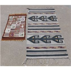 2 South American Weavings