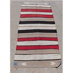 Navajo Double-Saddle Blanket