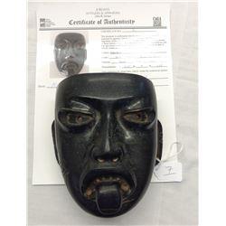 Aztec Mask w/John Jordan COA