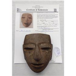 Chantal Stone Mask w/John Jordan COA