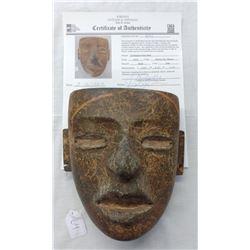 Teotihuacan Stone Mask w/John Jordan COA