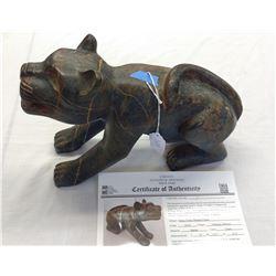 Feline Shaman Figure w/John Jordan COA