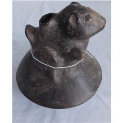 Squirrel Effigy Pot