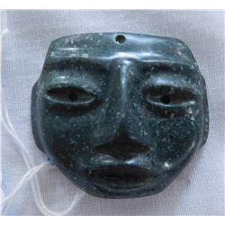 Mayan Jade Maskette